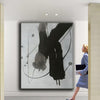 black and white modern paintings