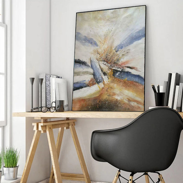 large modern canvas art