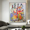 big abstract painting