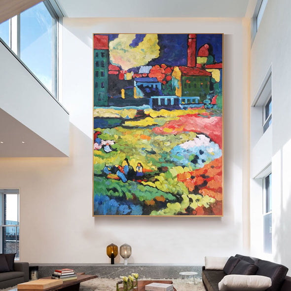 contemporary abstract artists painting