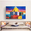 modern art painting designs