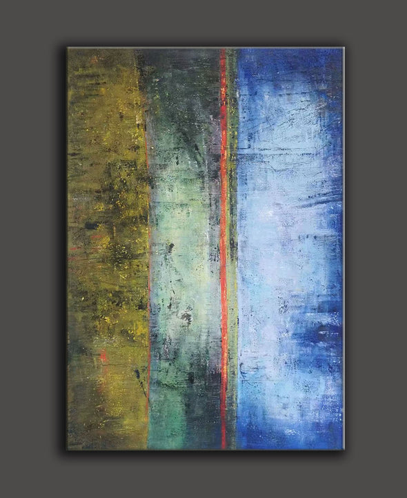 oversized abstract canvas art