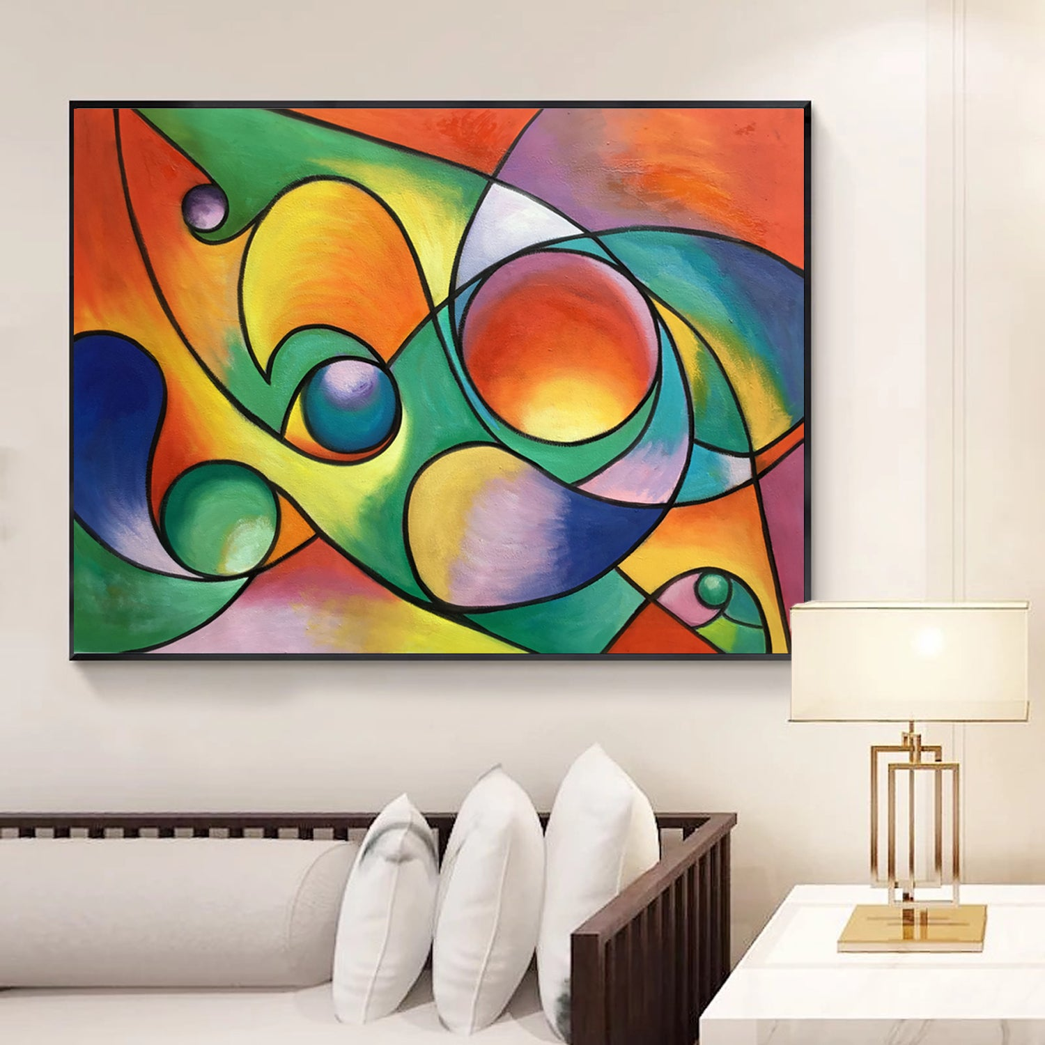 Abstract Acrylic Art On Canvas Contemporary Art Movements