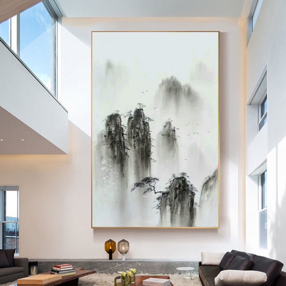 modern abstract canvas art oil painting