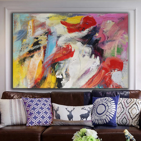 large painting canvas