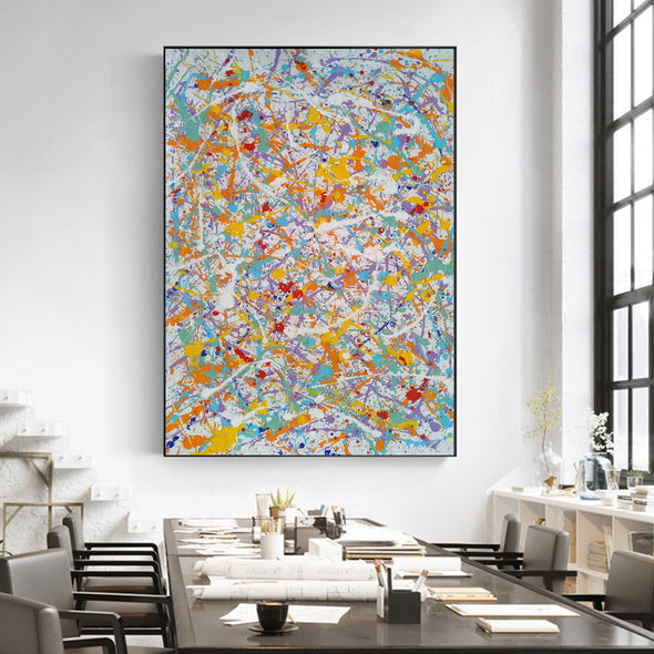 abstract canvas art  LargeArtCanvas
