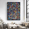 abstract acrylic painting LargeArtCanvas