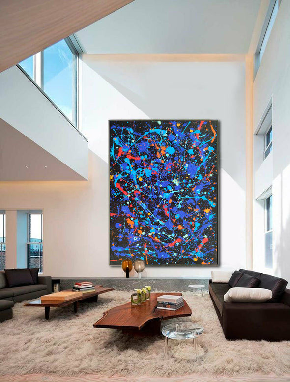 abstract oil painting LargeArtCanvas
