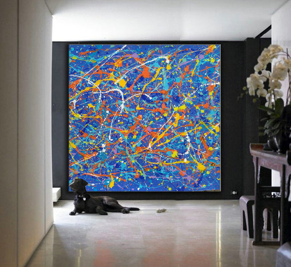 abstract landscape art LargeArtCanvas