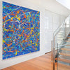contemporary artwork LargeArtCanvas