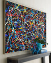 colorful abstract art LargeArtCanvas