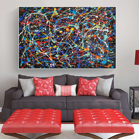 original artwork LargeArtCanvas