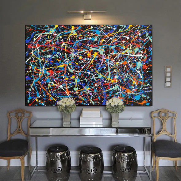abstract canvas painting LargeArtCanvas