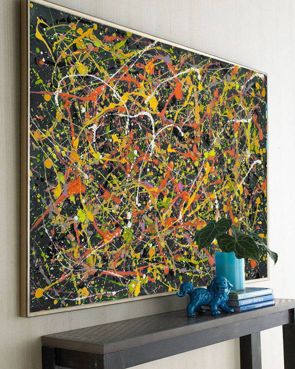the original splatter painting