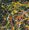 jackson pollock canvas art