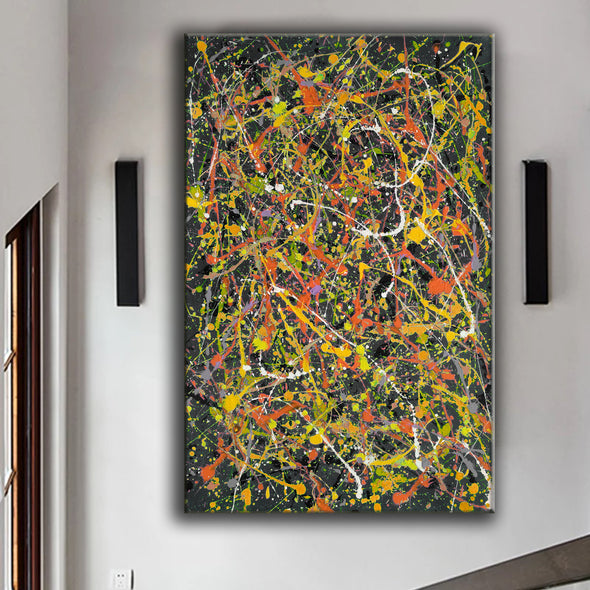 large paintings LargeArtCanvas