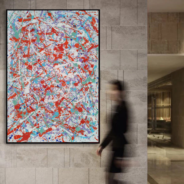 abstract art paintings LargeArtCanvas