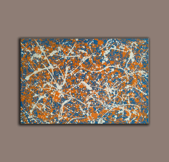 splatter painting artwork cost