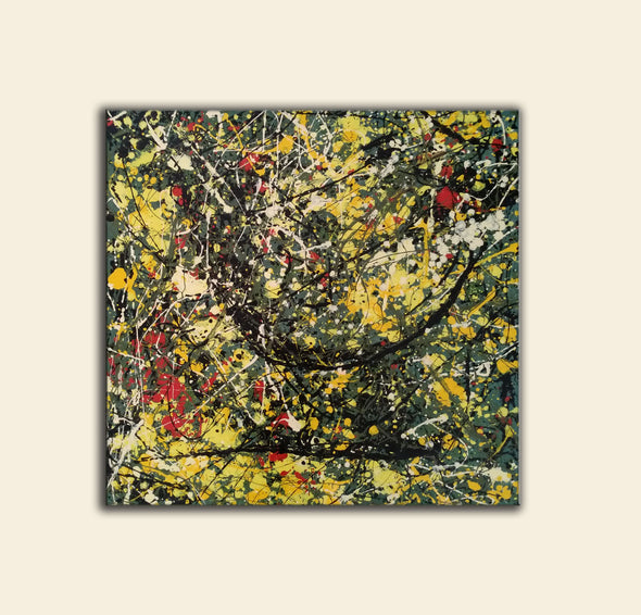 action painting of jackson pollock
