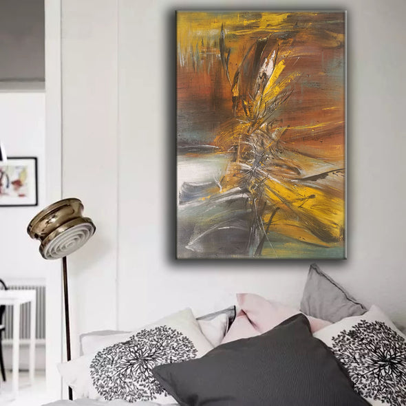 original abstract art on canvas