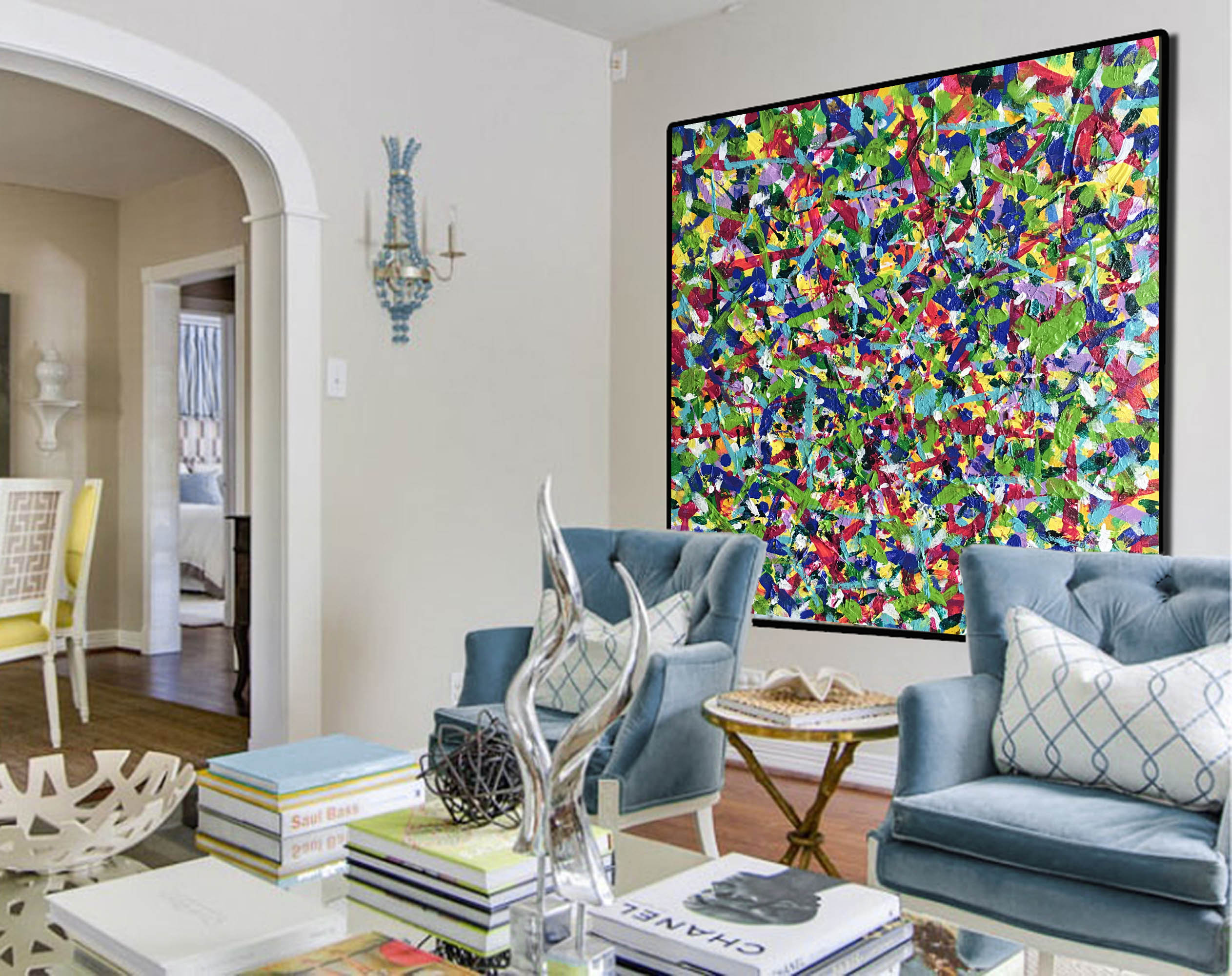 Abstract Canvas Wall Art Large Contemporary Paintings Buy Large Ca Largeartcanvas