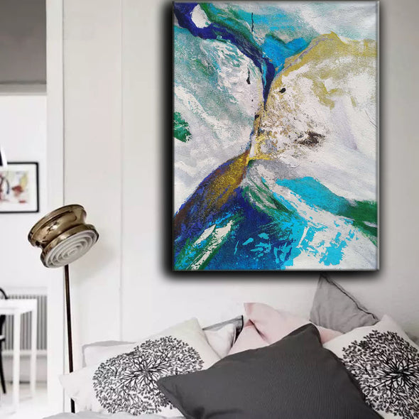 abstract oil paintings on canvas for sale