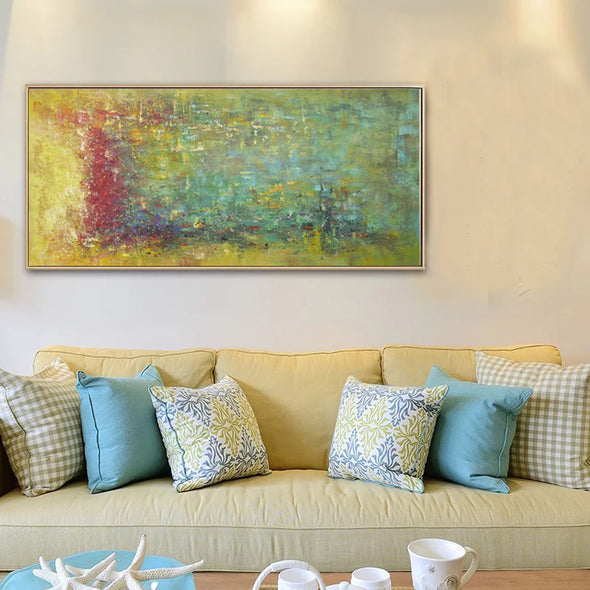 large contemporary canvas wall art