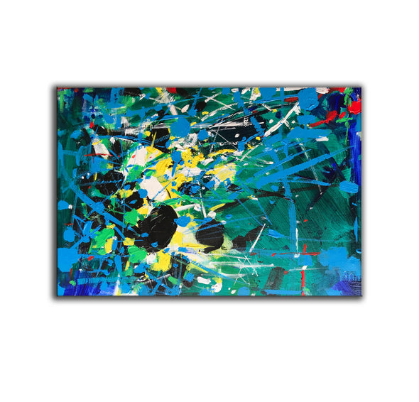 Abstract art | Abstract art paintings | Abstract painting on canvas L742-5