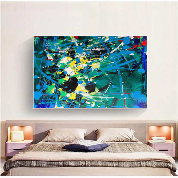 Abstract art | Abstract art paintings | Abstract painting on canvas L742-6