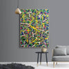 Abstract art paintings | Vertical oil painting | Decorative abstract paintings L771-4