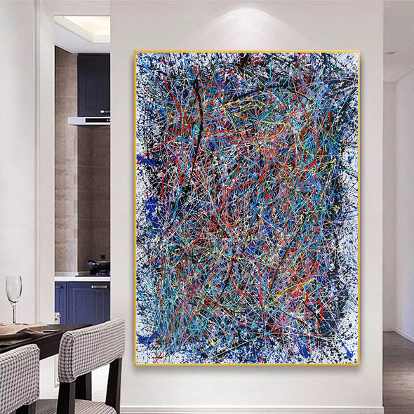Abstract art | Abstract painting | Abstract expressionist LA1-2