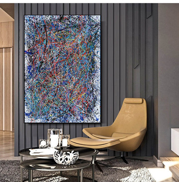 Abstract art | Abstract painting | Abstract expressionist LA1-9