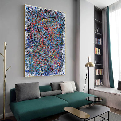 Abstract art | Abstract painting | Abstract expressionist LA1-1