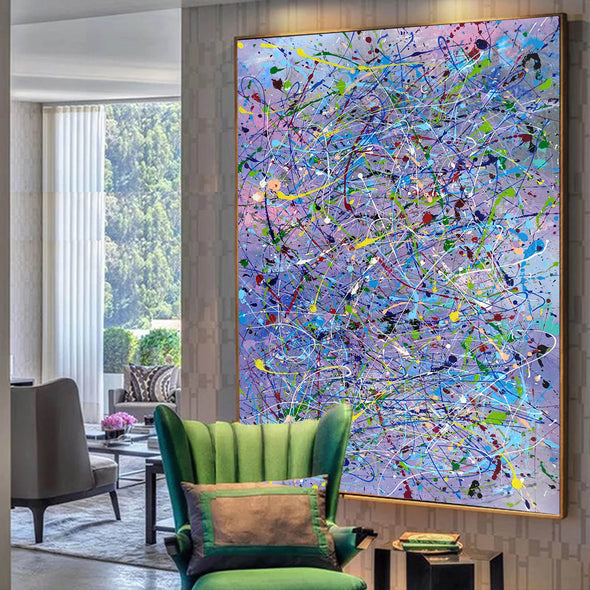 Abstract canvases  Best abstract paintings  Famous abstract painters LA11-1