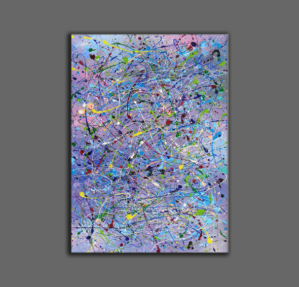 Abstract canvases  Best abstract paintings  Famous abstract painters LA11-4