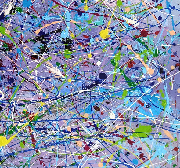 Abstract canvases  Best abstract paintings  Famous abstract painters LA11-5