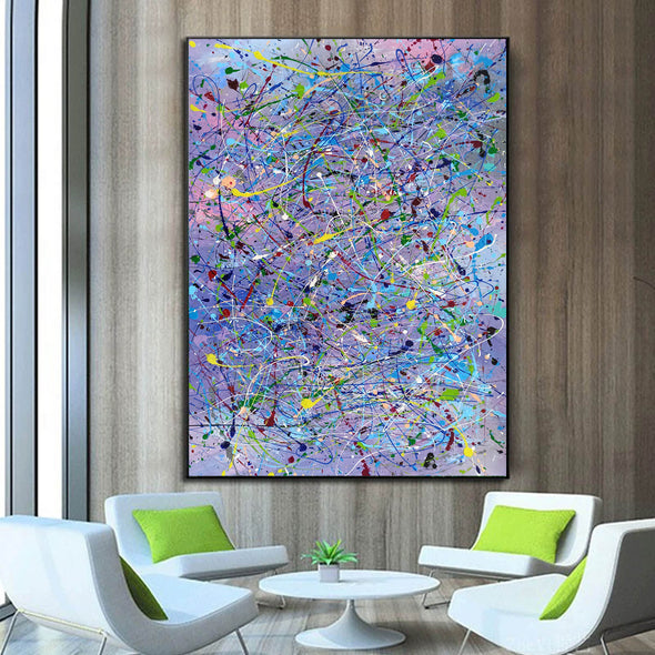 Abstract canvases  Best abstract paintings  Famous abstract painters LA11-9