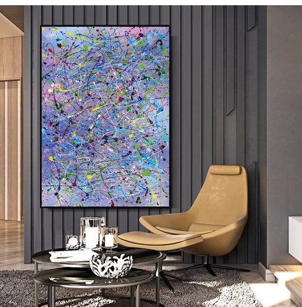 Abstract canvases  Best abstract paintings  Famous abstract painters LA11-2