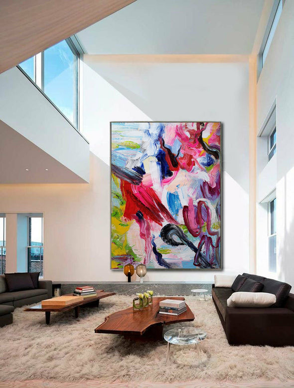 Canvas painting | Extra large wall art | Big canvas art L652-8