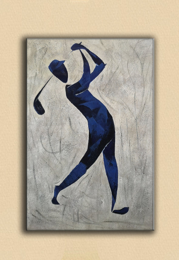 Henri Matisse style painting | Figurative art | Golf oil painting L669-2