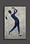Henri Matisse style painting | Figurative art | Golf oil painting L669-3