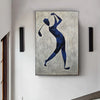 Henri Matisse style painting | Figurative art | Golf oil painting L669-4