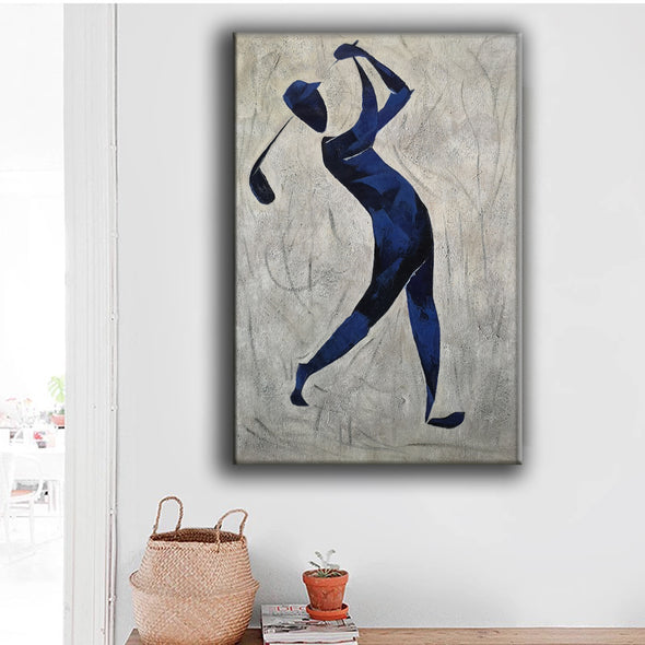 Henri Matisse style painting | Figurative art | Golf oil painting L669-6