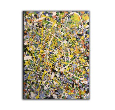 LargeArtCanvas-Jackson Pollock Style Paintings-L734-1