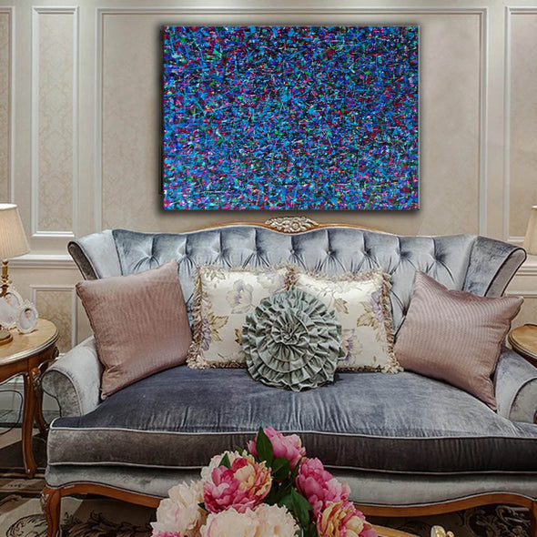 Large canvas art for living room | Oversized oil painting | Original abstract art paintings L738-5