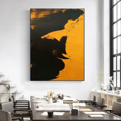 Large abstract wall art  Abstract canvas wall art  Abstract wall painting LA9-1