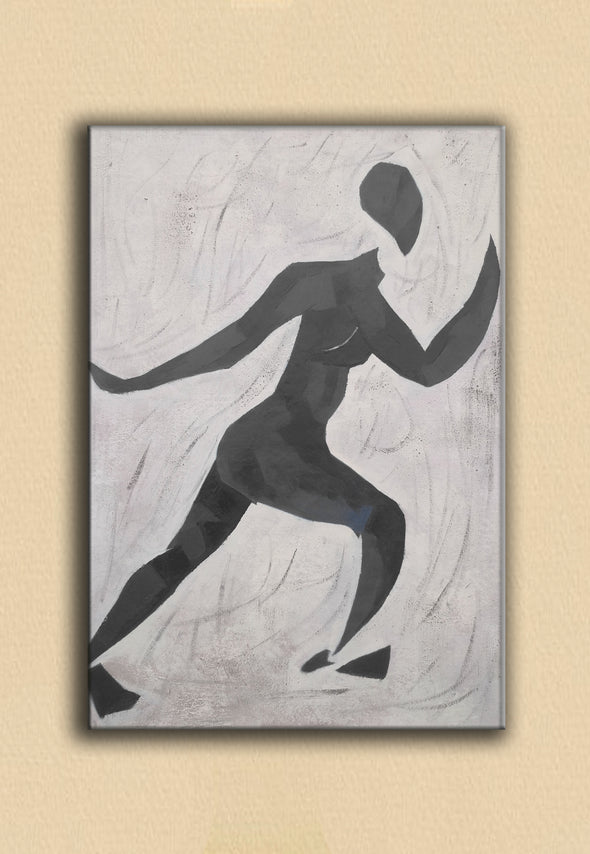Matisse inspired art  | Matisse paintings black and white | Nude painting L672-1
