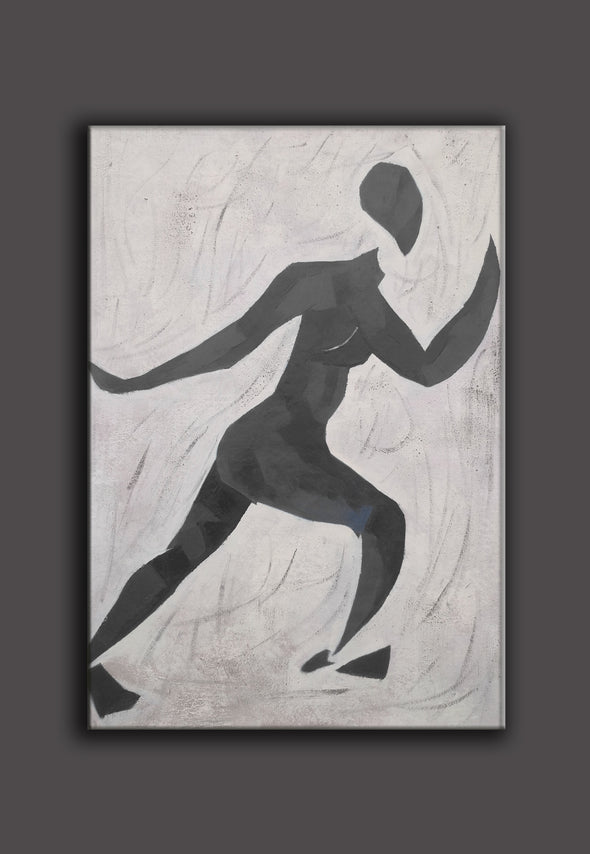 Matisse inspired art  | Matisse paintings black and white | Nude painting L672-2