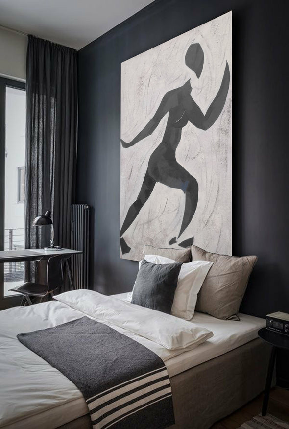 Matisse inspired art  | Matisse paintings black and white | Nude painting L672-3