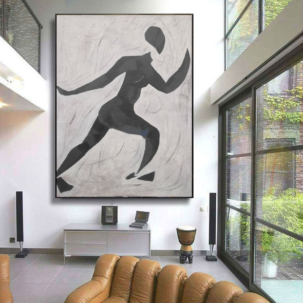 Matisse inspired art  | Matisse paintings black and white | Nude painting L672-7